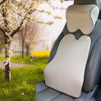 汽车头枕腰靠套装车用靠车靠垫舒适腰枕秋冬四季通用SN6011