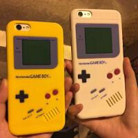 iPhone6plus手机壳防摔XS硅胶XR游戏机MAX苹果7/8P手机套gameboy