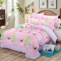 棉被套单件200x230cm薄款双人学校宿舍床单被罩三件套枕套两件套