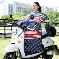 电动摩托车电瓶车挡风被冬季加绒加厚保暖防风防水防寒挡风罩冬天