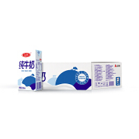 三元小方白纯牛奶250ml*24/箱