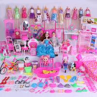 换装芭比娃娃套装大礼盒女孩公主别墅新款城堡超大梦幻衣橱甜甜屋