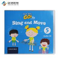 牛津大学出版社Get set go3-6岁幼儿英语sing and move Audio CD 5