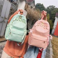 双肩包女2019新款大容量高中大学生书包背包