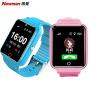 纽曼Q9 儿童电话手表 防水学生手男孩女孩智能多重定位手环跟踪手机拍照触摸屏可插卡通话手环