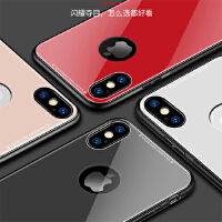 【当当自营】 BaaN 苹果7/8手机壳防摔iPhone7/8玻璃全包保护套轻薄男女简约款 玉石白