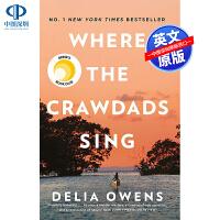 英文原版 Where the Crawdads Sing 喇蛄歌唱的地方 龙虾唱歌的地方 迪莉娅・欧文斯 Delia O