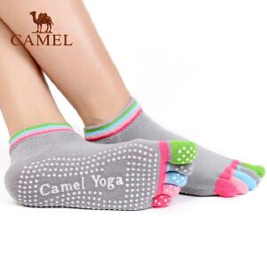 camel骆驼瑜伽袜子女款防滑专业女初学者运动瑜珈五指袜