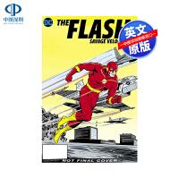 英文原版 The Flash: Savage Velocity 闪电侠:野蛮速度 DC漫画故事书