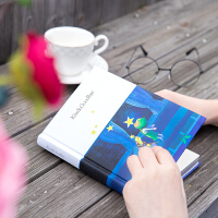【单件包邮】得力PY36128精装本笔记本a5记事本加厚几米小清新软面抄学生本子