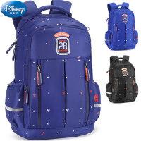 迪士尼小学生大容量书包3-6年级男童男孩儿童休闲减负双肩背包12