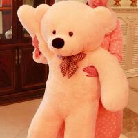 毛绒玩具熊公仔大号抱抱熊布娃娃玩偶抱枕送女友爱人生日礼物