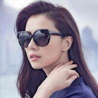 时尚潮太阳镜女士 大框经典蛤蟆镜 欧美太阳眼镜防紫外线墨镜