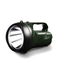 户外亮手电LED强光手电筒 家用应急远程充电远射灯 探照手提灯