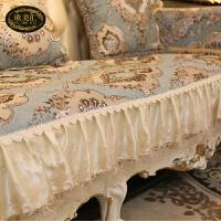 欧式沙发罩全盖四季通用防滑123组合三件套蕾丝沙发垫扶手巾