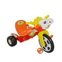 【当当自营】炫梦奇 儿童三轮车 脚踏车宝宝手推车 扭扭车 滑行车带音乐 0805中国红