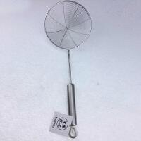 津熙优品jxsuperior漏勺不锈钢过滤网笊篱油炸网中号16cm JX40675