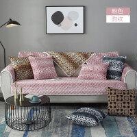 冬季沙发垫布艺防滑沙发套沙发罩现代简约全包毛绒沙发坐垫子