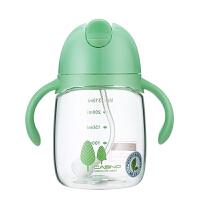 儿童水杯宝宝吸管杯带手柄喝水饮水杯水瓶婴儿学饮杯