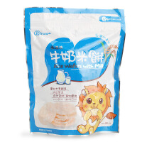 禾泱泱RIVSEA 婴幼儿童零食宝宝牛奶米饼干22g 宝岛台湾风味米饼
