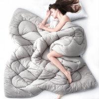 觉先生被子秋冬被加厚保暖春秋被芯空调被棉被褥单人双人羽丝绒被 150x200cm 单人冬被(4斤)