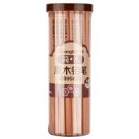 广博(GuangBo)50支桶装HB原木铅笔 素描绘图学习用品QB9563D当当自营