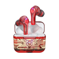 tws蓝牙耳机5.0 透明涂鸦无线运动触控耳机入耳式高音质新款男女士款降噪高颜值tws适用于苹果vivo华为oppo