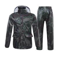 雨衣雨裤套装全身防水双层加厚男女电动摩托车分体雨衣