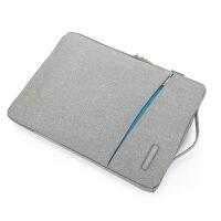15.6寸电脑内胆包 14寸苹果笔记本保护套 13.3 11 .6男女士12 和平灰送肩带可手提可斜挎 12寸