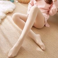 白领公社 打底裤 女式秋冬季新款加厚加绒光腿神器肉色打底裤袜女士连脚肤色打底袜