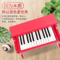 初学3-6岁1男女孩宝宝音乐玩具早教迷你小钢琴儿童钢琴木质电子琴