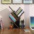 【爆款书架 限时秒杀26.9元包邮!  】书架 家用书房桌上个性树形小书架办公桌多层木质架子儿童学生现代简约落地小书柜子