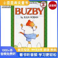 #原版英文童书 Buzby (I Can Read Level 2)小猫巴兹比 汪培�E二阶 [4-8岁]