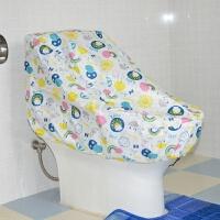马桶罩防水套坐便器盖智能一体机防尘防水罩淋浴雨衣罩套马桶套子