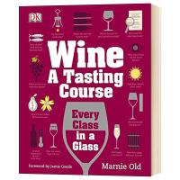 葡萄酒品味课 英文原版 Wine A Tasting Course 英文版原版书籍 精装进口英语书 Marnie Ol