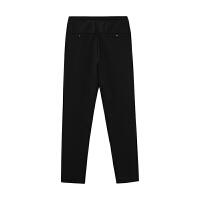 【1件3折到手价:59.97】美特斯邦威休闲裤男装春秋季运动舒适修身针织长裤子