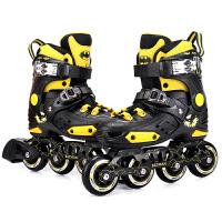 芭比旱冰鞋儿童溜冰鞋男女可调大小直排轮滑鞋初学者 3-5-8-10岁