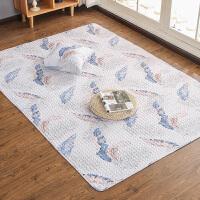 日式地垫榻榻米卧室床边地毯客厅沙发垫可爱儿童房间垫子地垫