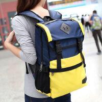 韩版中学生书包男双肩背包女运动时尚潮流旅行电脑包简约款