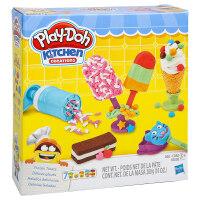 培乐多彩泥冰激凌甜点套装粘土橡皮泥儿童手工DIY玩具 冰激凌甜点套装 E0042