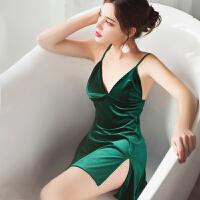 情趣内衣睡裙激情套装衣服女sm和服浴袍开裆性感制服小胸角色