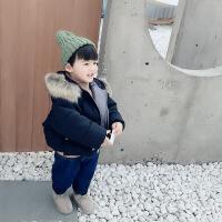 №【2019新款】冬天穿的儿童装男童冬装棉衣羽绒外套小童男女宝宝洋气棉袄潮