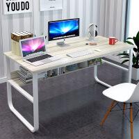 简易电脑桌台式家用卧室学生写字桌双人简约办公桌宜家经济型桌子