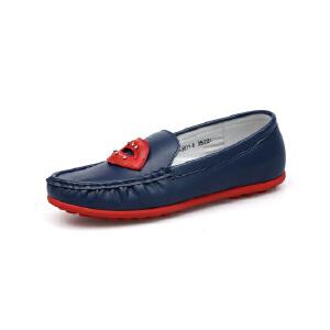 比比我新品新品童鞋2017春秋新款女童豆豆鞋