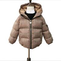 2018儿童棉衣新款加厚保暖手塞棉袄男女中小童连帽拉链夹克外套