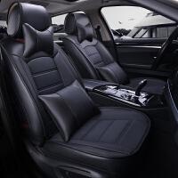 大众汽车坐垫全包围四季通用座套新款皮革座椅套冬款坐套专用座垫SN7457