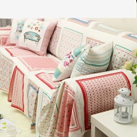 北波西/亚风情 棉麻 沙发巾 沙发盖布 如图