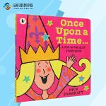 Once Upon a Time 很久很久以前点读版 英文进口原版绘本 幼儿童课外启蒙单词书 支持好饿的毛毛虫点读笔(