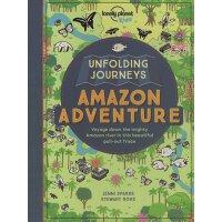【现货】英文原版Unfolding Journeys Amazon Adventure 孤独星球儿童版・纸上旅程:亚马逊9781786571052