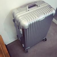 韩版铝框行李箱旅行箱拉杆箱男女士万向轮密码皮箱小清新20